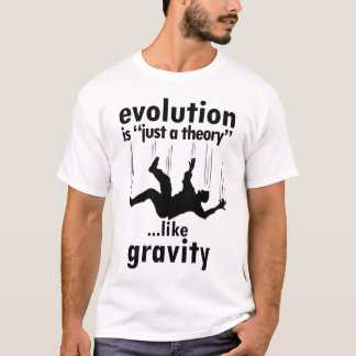Evolution is Just a Theory Men's Shirt