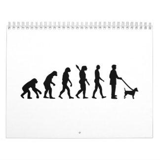Evolution Jack Russell Calendar
