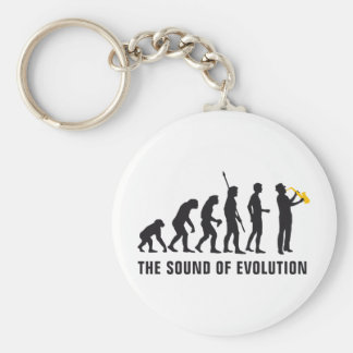 evolution jazz keychain