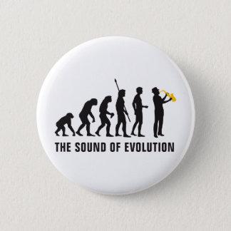 evolution jazz pinback button