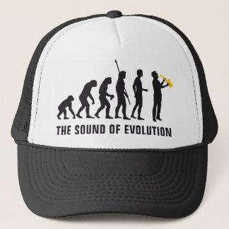 evolution jazz trucker hat