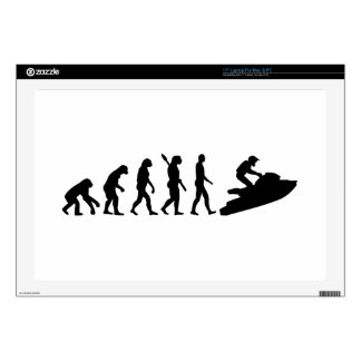 "Evolution Jet Ski Decals For 17"" Laptops"