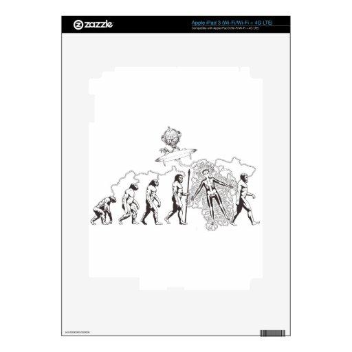 Evolution.jpg extranjero pegatinas skins para iPad 3