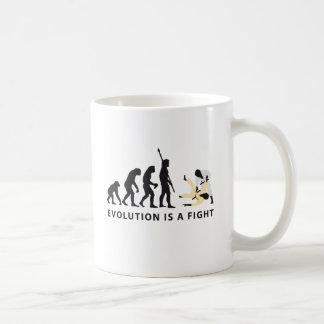 evolution Judo Coffee Mug