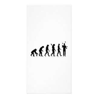 Evolution Juggling Card