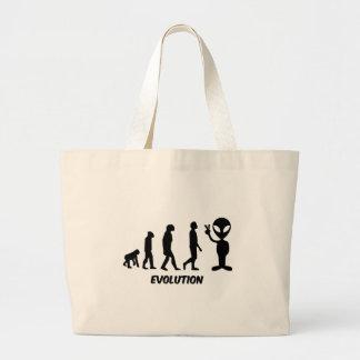 Evolution Jumbo Tote Bag