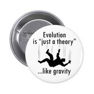 Evolution Just a Theory Button