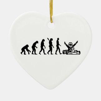 Evolution Kart Ceramic Ornament