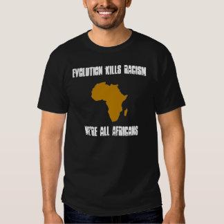 Evolution Kills Racism T-shirt
