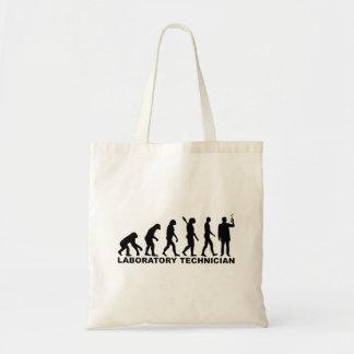 Evolution laboratory technician tote bag