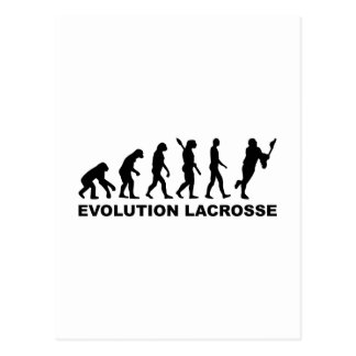 Evolution Lacrosse Postcard