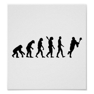 Evolution Lacrosse Posters