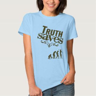 Evolution (ladies) tee shirt