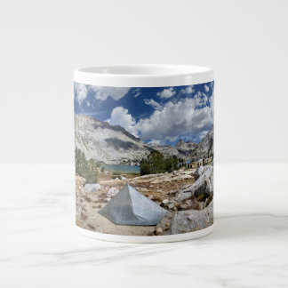 Evolution lake Camp - John Muir Trail Jumbo Mug