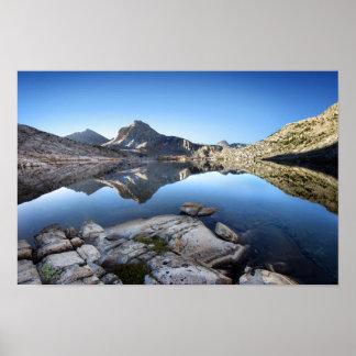 Evolution Lake- John Muir Trail Poster