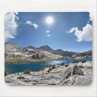 Evolution Lake Panorama - John Muir Trail Mousepad