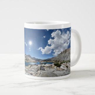Evolution Lake Panorama - John Muir Trail Jumbo Mugs