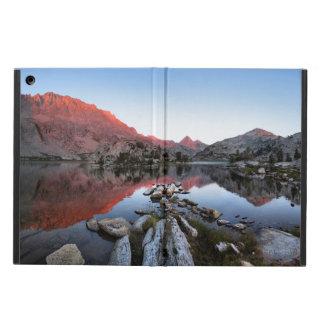 Evolution Lake Sunset Alpenglow - John Muir Trail Cover For iPad Air