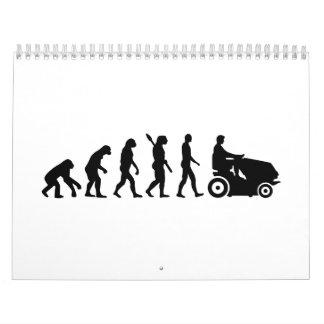 Evolution lawn mower calendar