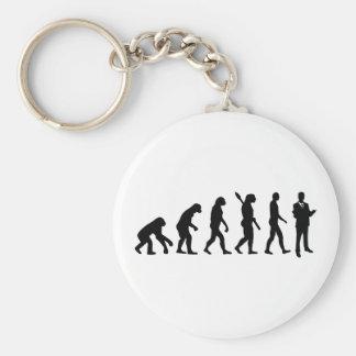 Evolution Lawyer attorney Basic Round Button Keychain