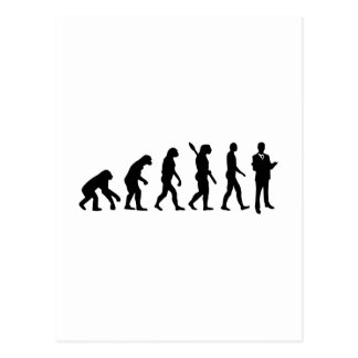 Evolution Lawyer attorney Postcard
