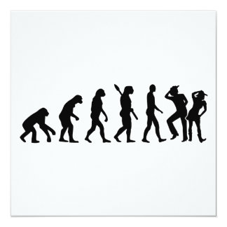 Evolution line dance card