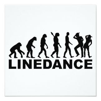 Evolution linedance card