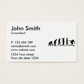 Evolution Longboard Business Card