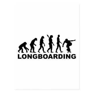 Evolution Longboarding Postcard