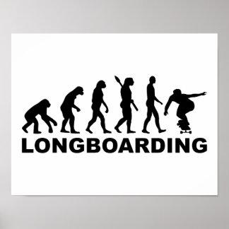 Evolution Longboarding Poster