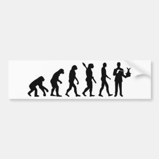 Evolution Magician Bumper Sticker