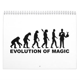 Evolution Magician Calendar