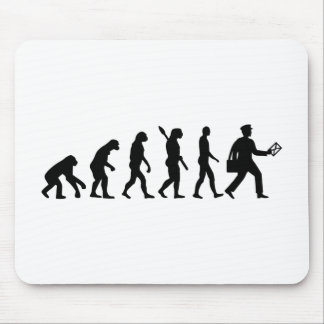 Evolution mailman mouse pad