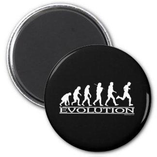 Evolution - Man Running Magnet