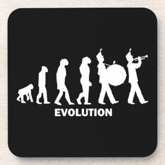 evolution marching band beverage coaster