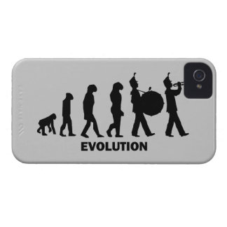 evolution marching band iPhone 4 Case-Mate cases
