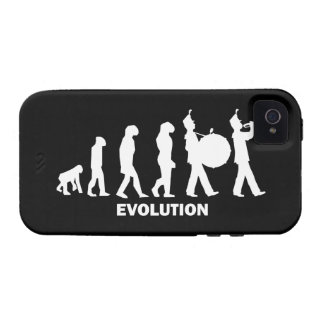 evolution marching band iPhone 4/4S cases