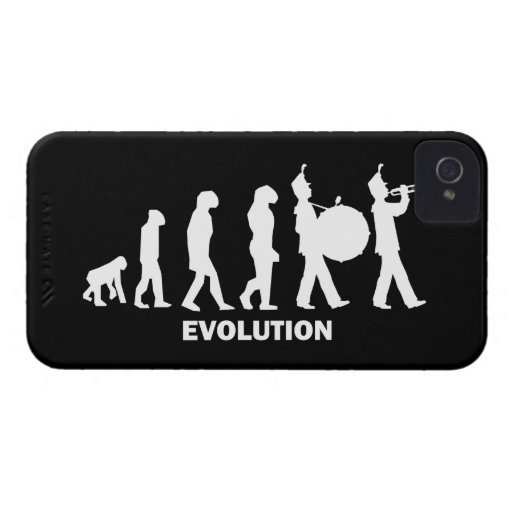 evolution marching band iPhone 4 Case-Mate case