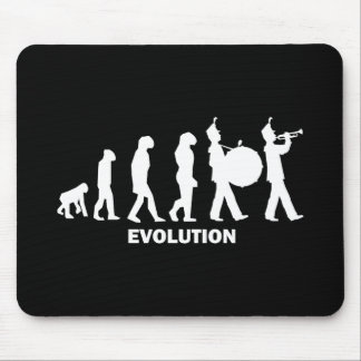 evolution marching band mouse pad