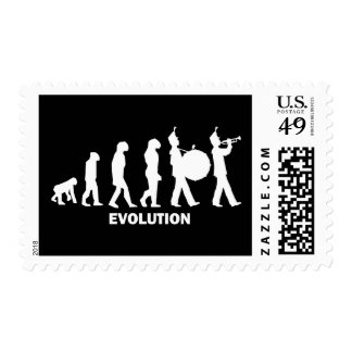 evolution marching band stamps