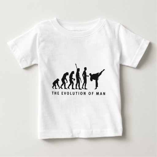 evolution martial arts playera de bebé