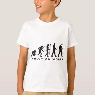 evolution mason with drill hammer T-Shirt
