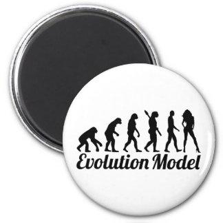 Evolution model magnet