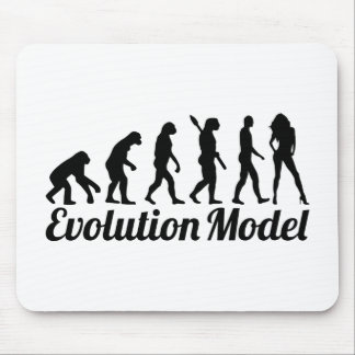 Evolution model mouse pad