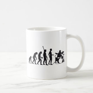 evolution more drummer coffee mug
