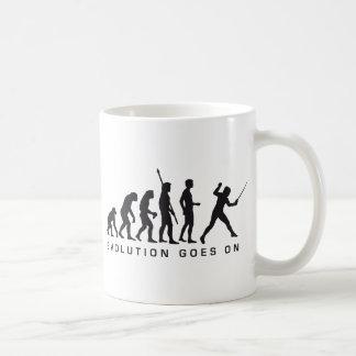 evolution more fencer coffee mug