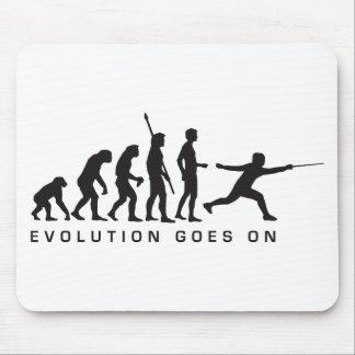 evolution more fencer mousepads