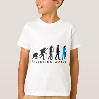 evolution more jackhammer more worker T-Shirt