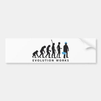 evolution more manufacturer bumper sticker