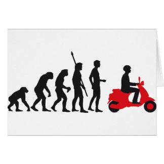 evolution more scooter card
